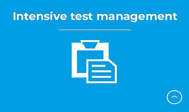 Intensive test management