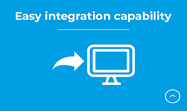Easy integration capability